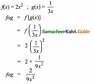 Samacheer Kalvi 10th Maths Guide Chapter 1 Relations and Functions Ex 1.6 3
