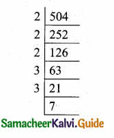 Samacheer Kalvi 10th Maths Guide Chapter 2 Numbers and Sequences Additional Questions 1