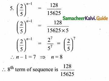 Samacheer Kalvi 10th Maths Guide Chapter 2 Numbers and Sequences Additional Questions 10