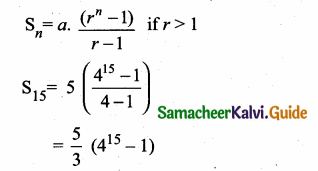 Samacheer Kalvi 10th Maths Guide Chapter 2 Numbers and Sequences Additional Questions 12
