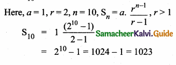 Samacheer Kalvi 10th Maths Guide Chapter 2 Numbers and Sequences Additional Questions 13
