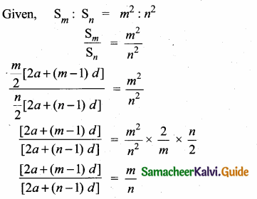 Samacheer Kalvi 10th Maths Guide Chapter 2 Numbers and Sequences Additional Questions 18