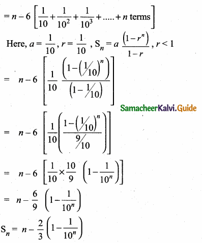 Samacheer Kalvi 10th Maths Guide Chapter 2 Numbers and Sequences Additional Questions 21