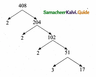 Samacheer Kalvi 10th Maths Guide Chapter 2 Numbers and Sequences Ex 2.2 4