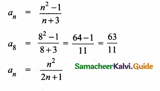 Samacheer Kalvi 10th Maths Guide Chapter 2 Numbers and Sequences Ex 2.4 2