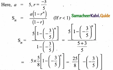 Samacheer Kalvi 10th Maths Guide Chapter 2 Numbers and Sequences Ex 2.8 1
