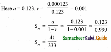 Samacheer Kalvi 10th Maths Guide Chapter 2 Numbers and Sequences Ex 2.8 13