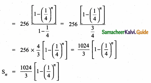 Samacheer Kalvi 10th Maths Guide Chapter 2 Numbers and Sequences Ex 2.8 3