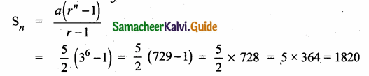 Samacheer Kalvi 10th Maths Guide Chapter 2 Numbers and Sequences Ex 2.8 4