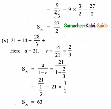 Samacheer Kalvi 10th Maths Guide Chapter 2 Numbers and Sequences Ex 2.8 6