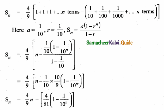 Samacheer Kalvi 10th Maths Guide Chapter 2 Numbers and Sequences Ex 2.8 8