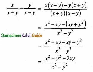 Samacheer Kalvi 10th Maths Guide Chapter 3 Algebra Additional Questions 13