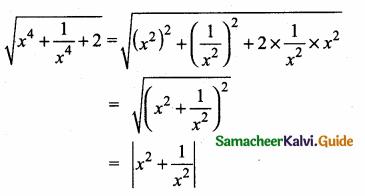 Samacheer Kalvi 10th Maths Guide Chapter 3 Algebra Additional Questions 15