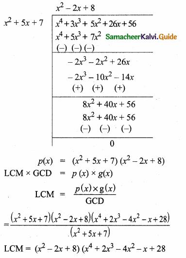 Samacheer Kalvi 10th Maths Guide Chapter 3 Algebra Additional Questions 38