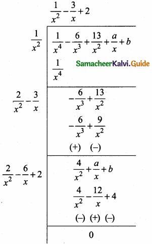 Samacheer Kalvi 10th Maths Guide Chapter 3 Algebra Additional Questions 57