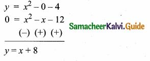 Samacheer Kalvi 10th Maths Guide Chapter 3 Algebra Ex 3.15 14