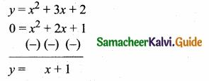 Samacheer Kalvi 10th Maths Guide Chapter 3 Algebra Ex 3.15 22