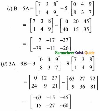 Samacheer Kalvi 10th Maths Guide Chapter 3 Algebra Ex 3.17 13