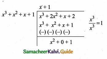 Samacheer Kalvi 10th Maths Guide Chapter 3 Algebra Ex 3.2 7