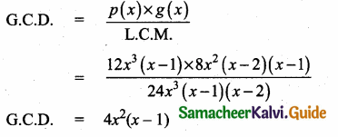 Samacheer Kalvi 10th Maths Guide Chapter 3 Algebra Ex 3.3 6