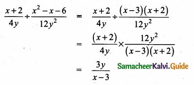 Samacheer Kalvi 10th Maths Guide Chapter 3 Algebra Ex 3.5 19