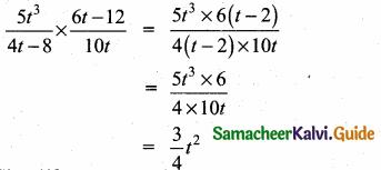 Samacheer Kalvi 10th Maths Guide Chapter 3 Algebra Ex 3.5 5