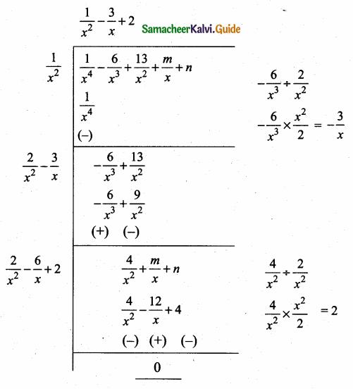 Samacheer Kalvi 10th Maths Guide Chapter 3 Algebra Ex 3.8 13