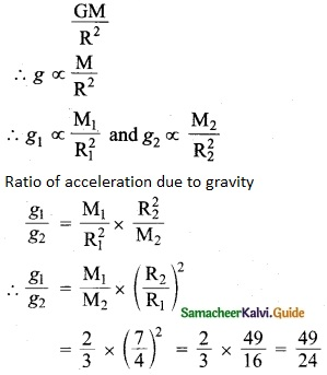 Samacheer Kalvi 10th Science Guide Chapter 1 Laws of Motion 2