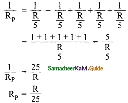 Samacheer Kalvi 10th Science Guide Chapter 4 Electricity 11