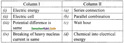 Samacheer Kalvi 10th Science Guide Chapter 4 Electricity 20