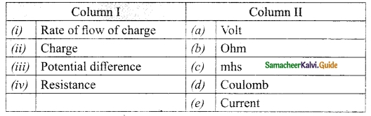 Samacheer Kalvi 10th Science Guide Chapter 4 Electricity 22