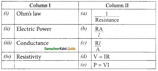 Samacheer Kalvi 10th Science Guide Chapter 4 Electricity 23