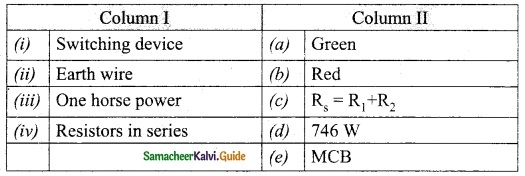 Samacheer Kalvi 10th Science Guide Chapter 4 Electricity 24