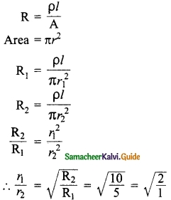 Samacheer Kalvi 10th Science Guide Chapter 4 Electricity 54