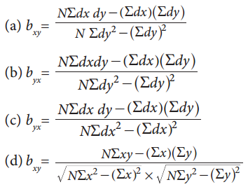 Samacheer Kalvi 11th Business Maths Guide Chapter 9 Correlation and Regression Analysis Ex 9.3 Q13