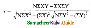 Samacheer Kalvi 11th Business Maths Guide Chapter 9 Correlation and Regression Analysis Ex 9.3 Q7