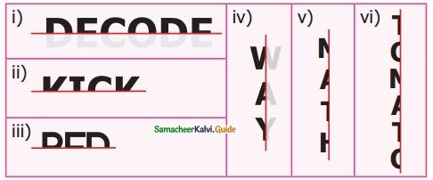 Samacheer Kalvi 6th Maths Guide Term 3 Chapter 4 Symmetry Ex 4.1 4