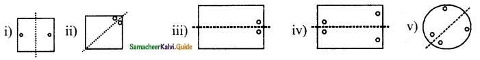 Samacheer Kalvi 6th Maths Guide Term 3 Chapter 4 Symmetry Ex 4.1 6