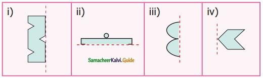 Samacheer Kalvi 6th Maths Guide Term 3 Chapter 4 Symmetry Ex 4.1 7
