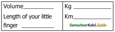 Samacheer Kalvi 6th Science Guide Term 1 Chapter 1 Measurements 2