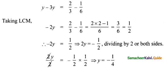 Samacheer Kalvi 8th Maths Guide Answers Chapter 3 Algebra Ex 3.6 6