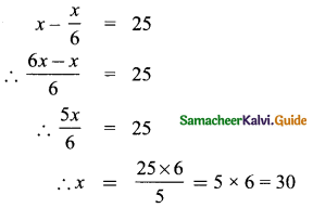 Samacheer Kalvi 8th Maths Guide Answers Chapter 3 Algebra Ex 3.7 1