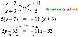 Samacheer Kalvi 8th Maths Guide Answers Chapter 3 Algebra Ex 3.9 10