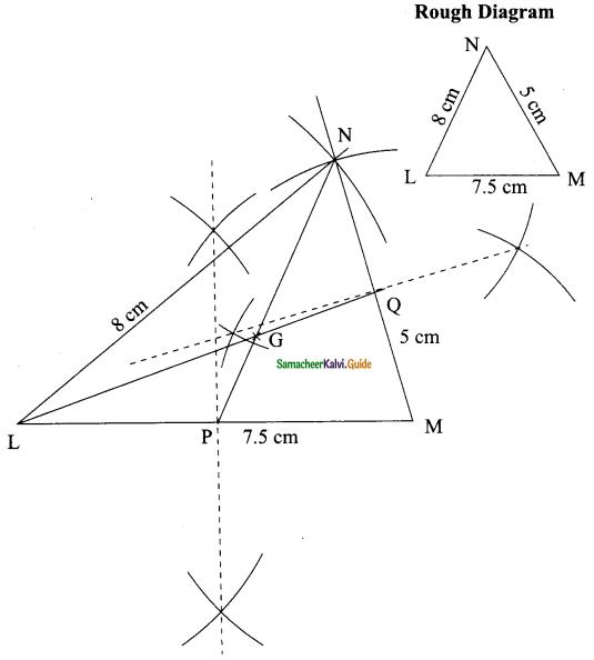 Samacheer Kalvi 9th Maths Guide Chapter 4 Geometry Ex 4.5 1