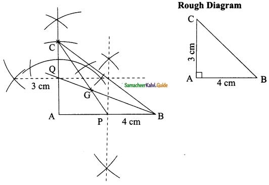 Samacheer Kalvi 9th Maths Guide Chapter 4 Geometry Ex 4.5 2