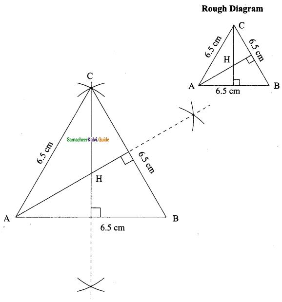 Samacheer Kalvi 9th Maths Guide Chapter 4 Geometry Ex 4.5 6