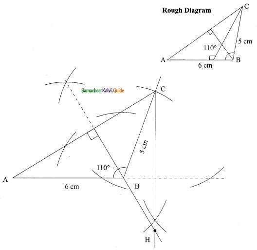 Samacheer Kalvi 9th Maths Guide Chapter 4 Geometry Ex 4.5 7