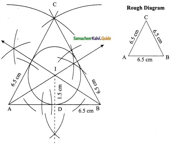 Samacheer Kalvi 9th Maths Guide Chapter 4 Geometry Ex 4.6 5