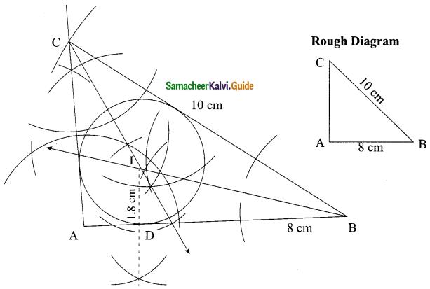 Samacheer Kalvi 9th Maths Guide Chapter 4 Geometry Ex 4.6 6