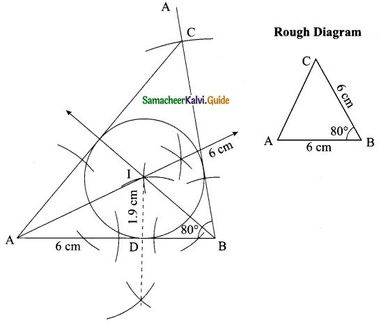 Samacheer Kalvi 9th Maths Guide Chapter 4 Geometry Ex 4.6 8
